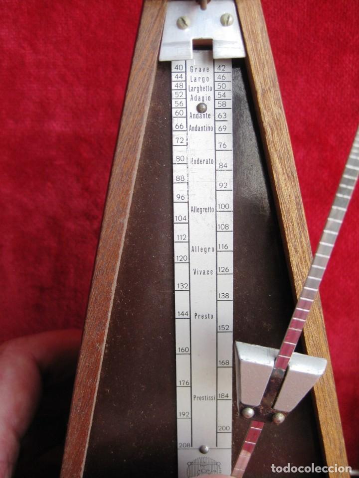 METRÓNOMO MAELZEL 1815-1846 MADE IN FRANCE MARCADO PAQUET, NUMERADO (Música - Instrumentos Musicales - Accesorios)
