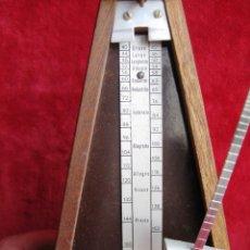 Instrumentos musicales: METRÓNOMO MAELZEL 1815-1846 MADE IN FRANCE MARCADO PAQUET, NUMERADO . Lote 172067660
