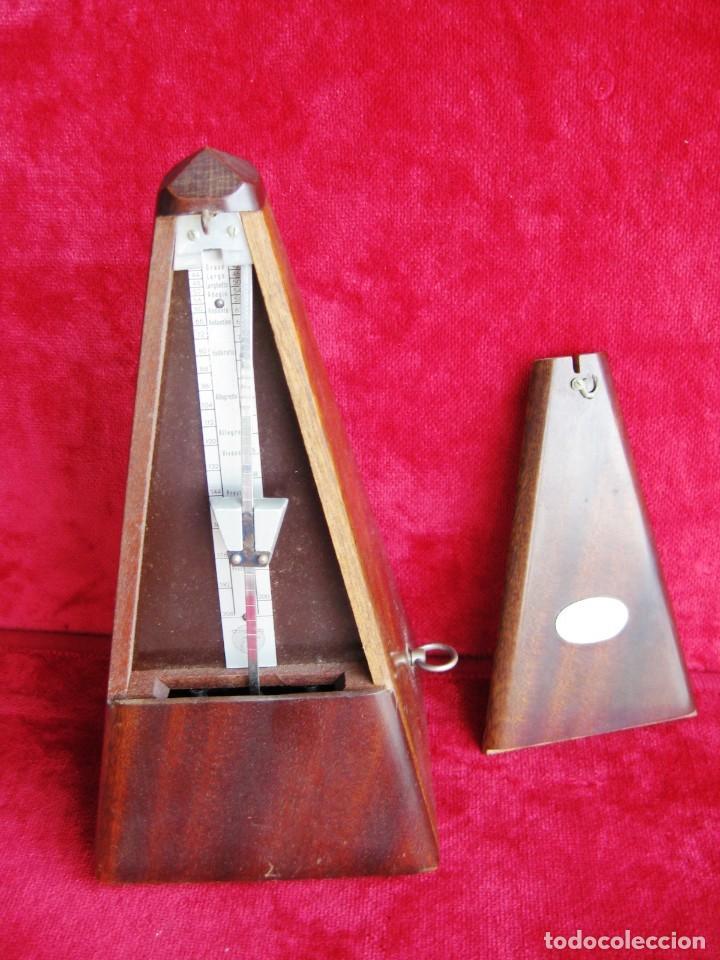 Instrumentos musicales: METRÓNOMO MAELZEL 1815-1846 MADE IN FRANCE MARCADO PAQUET, NUMERADO - Foto 5 - 172067660