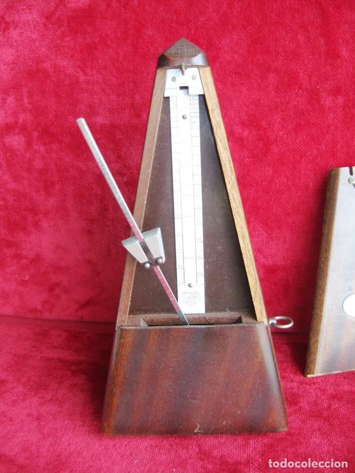 Instrumentos musicales: METRÓNOMO MAELZEL 1815-1846 MADE IN FRANCE MARCADO PAQUET, NUMERADO - Foto 6 - 172067660