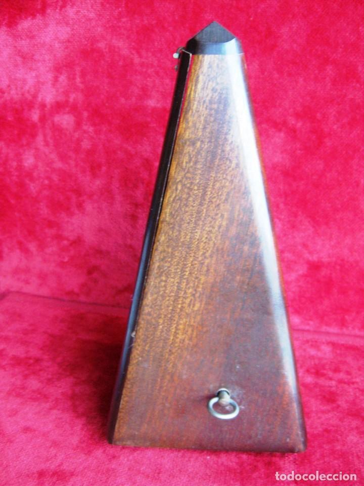 Instrumentos musicales: METRÓNOMO MAELZEL 1815-1846 MADE IN FRANCE MARCADO PAQUET, NUMERADO - Foto 7 - 172067660