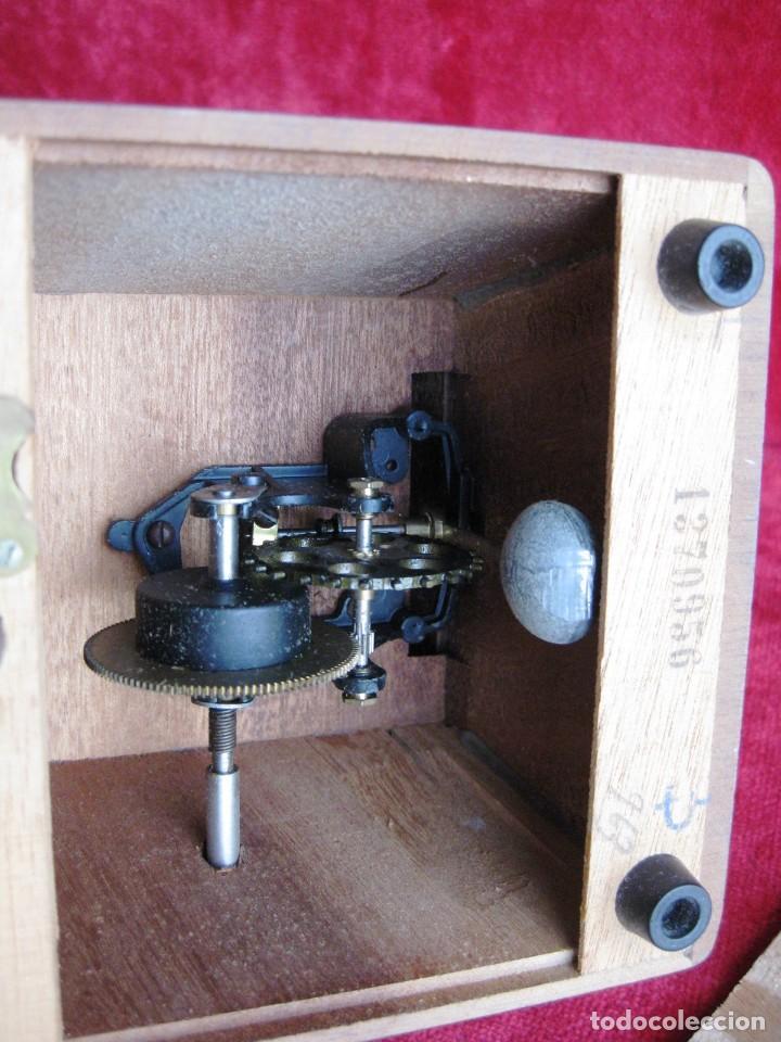 Instrumentos musicales: METRÓNOMO MAELZEL 1815-1846 MADE IN FRANCE MARCADO PAQUET, NUMERADO - Foto 10 - 172067660