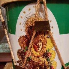 Instrumentos musicales: TAMBORIL ROCIERO CON VIRGEN DEL ROCÍO.. Lote 172091772