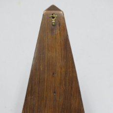 Instrumentos musicales: ANTIGUO METRONOMO EN MADERA DE PALOSANTO. Lote 172109293