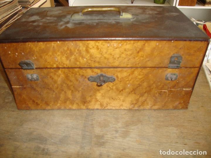 Instrumentos musicales: PIEZA DE COLECCIONISTA MUY DIFICIL CAJA AFINADOR DE ARPAS ARPA FINALES DEL SIGLO XIX VER FOTOS - Foto 17 - 172473383