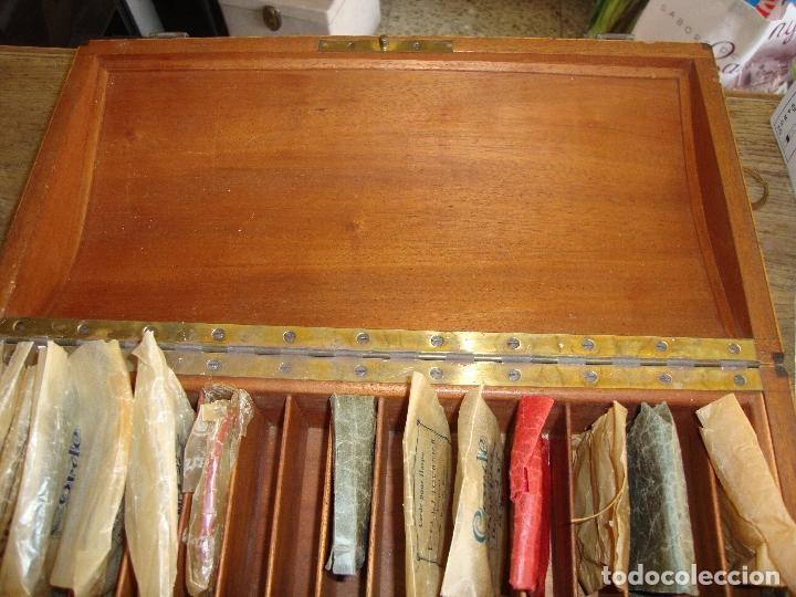 Instrumentos musicales: PIEZA DE COLECCIONISTA MUY DIFICIL CAJA AFINADOR DE ARPAS ARPA FINALES DEL SIGLO XIX VER FOTOS - Foto 20 - 172473383