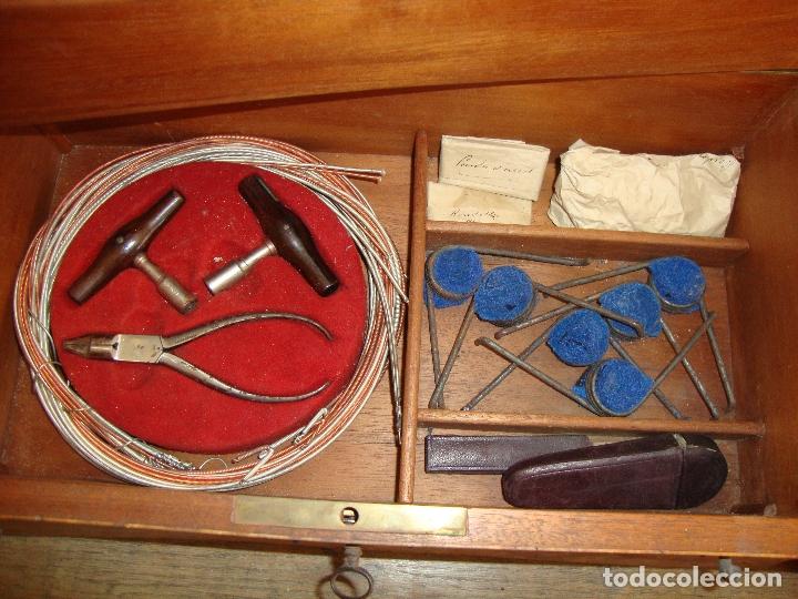 Instrumentos musicales: PIEZA DE COLECCIONISTA MUY DIFICIL CAJA AFINADOR DE ARPAS ARPA FINALES DEL SIGLO XIX VER FOTOS - Foto 22 - 172473383