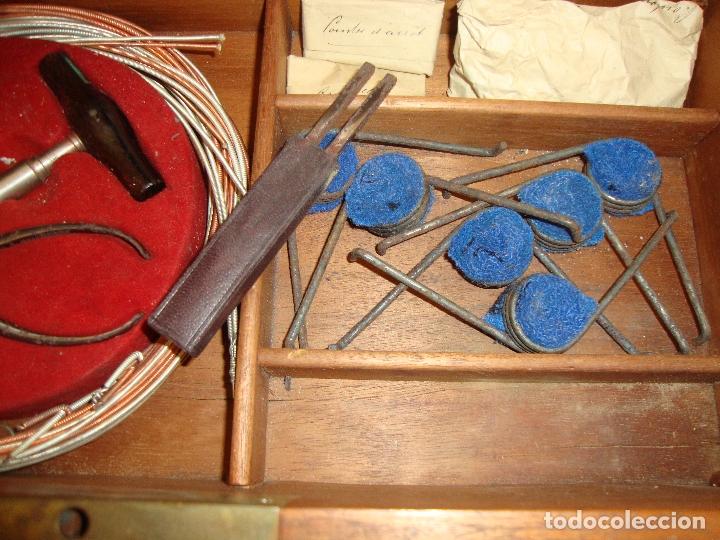 Instrumentos musicales: PIEZA DE COLECCIONISTA MUY DIFICIL CAJA AFINADOR DE ARPAS ARPA FINALES DEL SIGLO XIX VER FOTOS - Foto 24 - 172473383