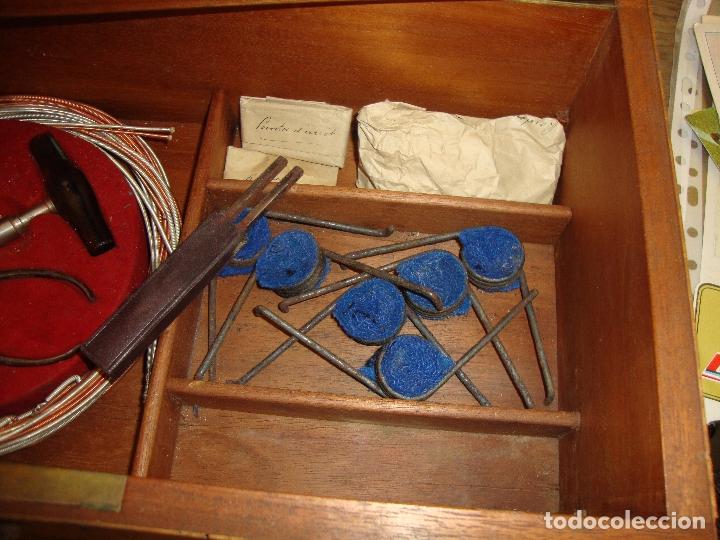 Instrumentos musicales: PIEZA DE COLECCIONISTA MUY DIFICIL CAJA AFINADOR DE ARPAS ARPA FINALES DEL SIGLO XIX VER FOTOS - Foto 26 - 172473383