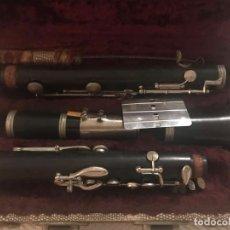 Instrumentos musicales: INSTRUMENTO MUSICAL ( VIENTO - MADERA ) ANTIGÜO Y BONITO CLARINETE , MARCA : BOOSEY HAWKES .. Lote 172562198