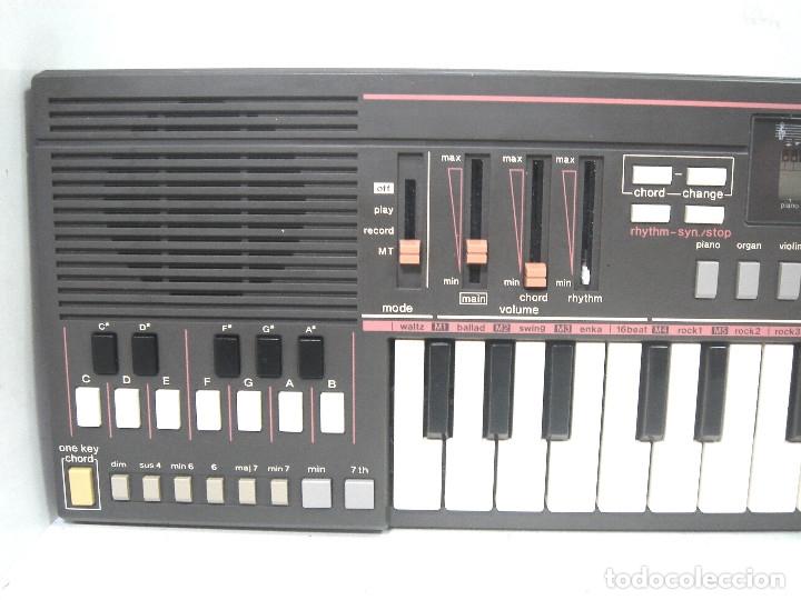 Instrumentos musicales: DIFICIL TECLADO ELECTRONICO - CASIO PT-31 ¡¡FUNCIONANDO¡¡ - JAPAN 80S -PT31 - PIANO ORGANO - Foto 4 - 172607409