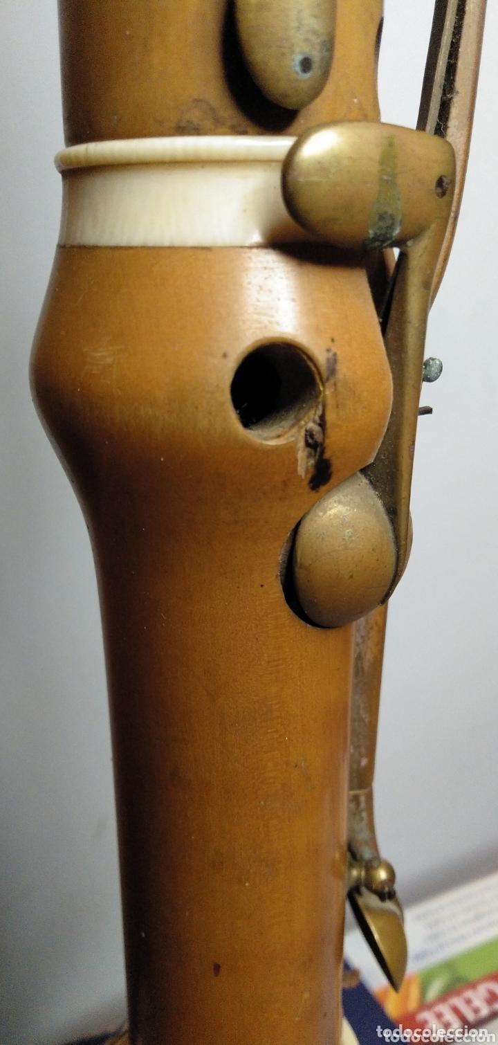Instrumentos musicales: Clarinete Gautrot boj y marfil - Foto 8 - 172658045