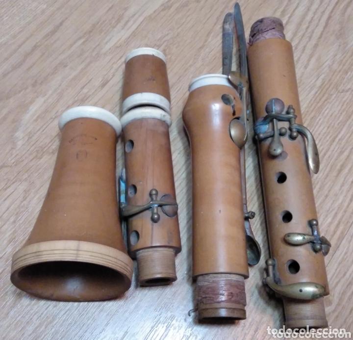 CLARINETE GAUTROT BOJ Y MARFIL (Música - Instrumentos Musicales - Viento Madera)