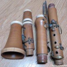 Instrumentos musicales: CLARINETE GAUTROT BOJ Y MARFIL. Lote 172658045