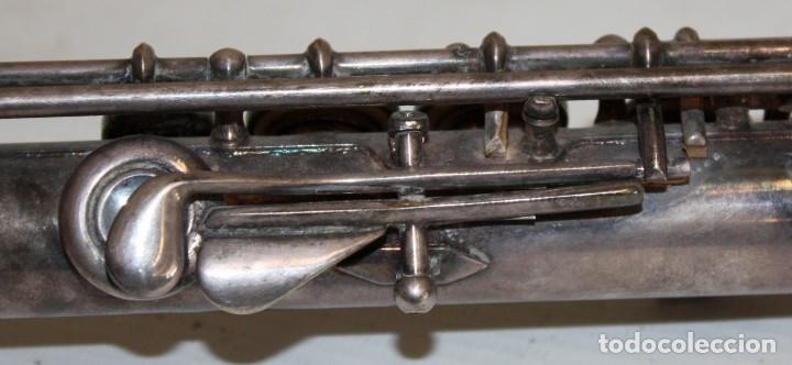 Instrumentos musicales: FLAUTA TRAVESERA DE LA MARCA ARTLEY REALIZADA EN PLATA Y METAL PLATEADO - Foto 5 - 172810958