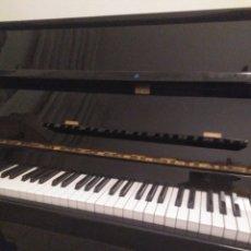 Instrumentos musicales: PIANO VERTICAL DE PARED CHERNY LACADO NEGRO 1985, MUY BUEN ESTADO. CON SORDINA. Lote 172862078