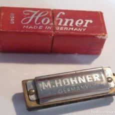 Instrumentos Musicais: ARMÓNICA MINIATURA HOHNER Nº 40 - 4 X 1,2 CM. - AÑOS 50 - EN CAJA ORIGINAL - 5 AGUJEROS. Lote 172907104
