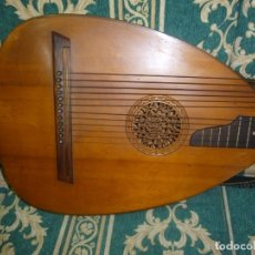 Instrumentos musicales: ANTIGUO LAÚD BAJO ALEMÁN 12 CUERDAS. Lote 172907808