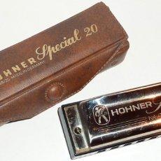 Instrumentos musicales: ARMÓNICA HOHNER SPECIAL 20 MARINE BAND - 10 X 2,7 CM. - AÑOS 50 - 10 AGUJEROS. Lote 172907873