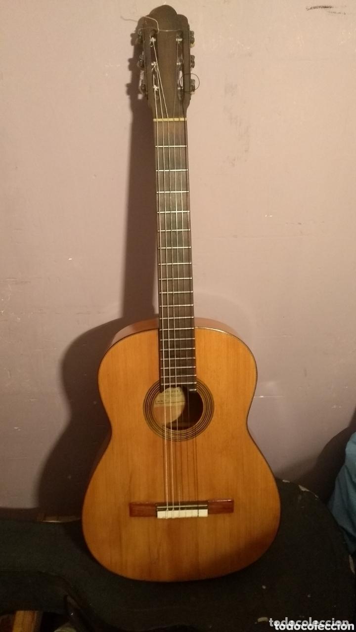 RICARDO SANCHÍS NACHER LEER ANTES DE COMPRAR(INCLUYE MALETA ANTIGUA) (Música - Instrumentos Musicales - Guitarras Antiguas)