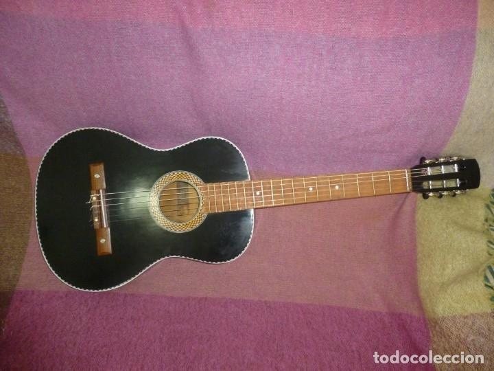 ANTIGUA Y RARA GUITARRA ALEMANA WALTER..¿HOYER? (Música - Instrumentos Musicales - Guitarras Antiguas)