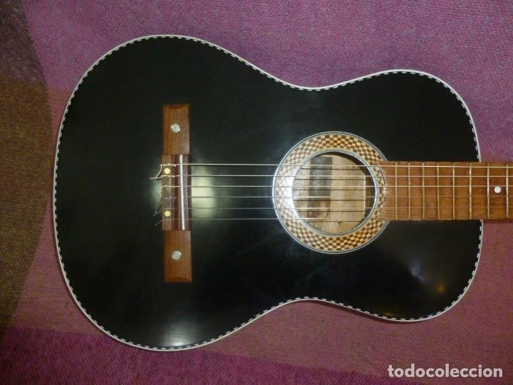 Instrumentos musicales: Antigua y rara guitarra alemana Walter..¿Hoyer? - Foto 2 - 173588932