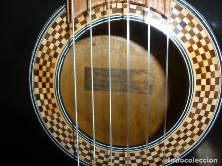 Instrumentos musicales: Antigua y rara guitarra alemana Walter..¿Hoyer? - Foto 3 - 173588932