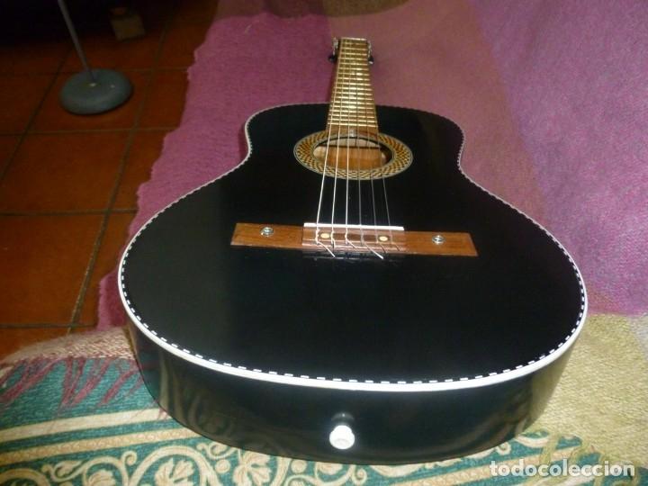 Instrumentos musicales: Antigua y rara guitarra alemana Walter..¿Hoyer? - Foto 4 - 173588932