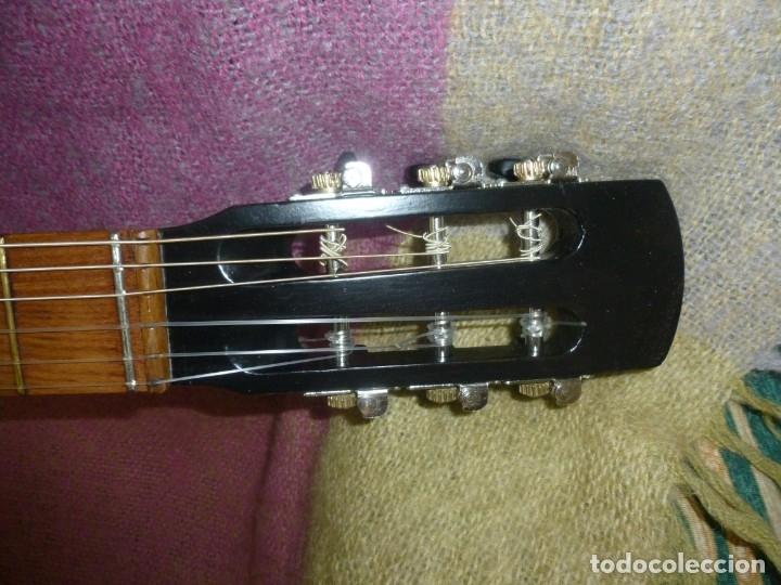 Instrumentos musicales: Antigua y rara guitarra alemana Walter..¿Hoyer? - Foto 6 - 173588932