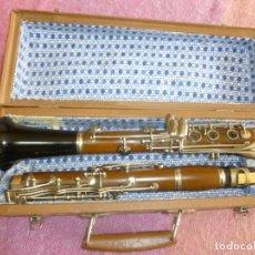 Instrumentos musicales: ANTIGUO CLARINETE SI DE MADERA. Lote 173591853