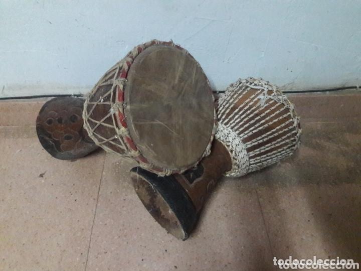 Instrumentos musicales: bongos percusion - Foto 7 - 173991790
