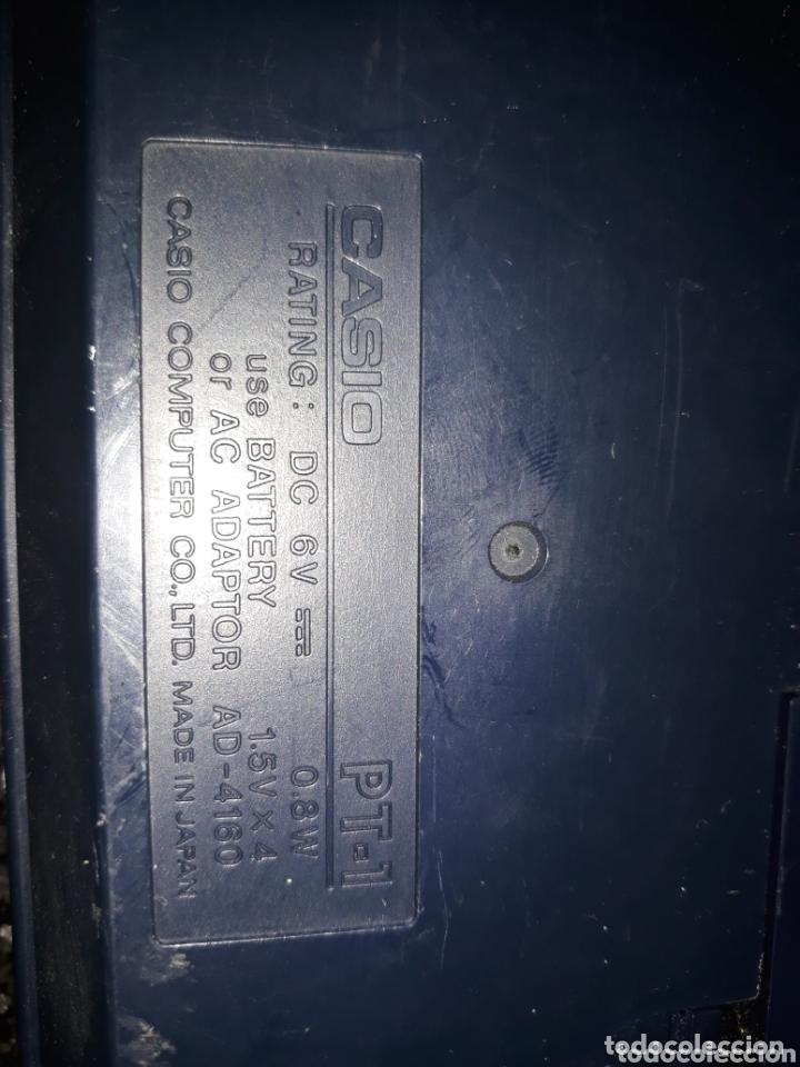 Instrumentos musicales: TECLADO CASIO PT-1 FUNCIONANDO - Foto 4 - 174061430