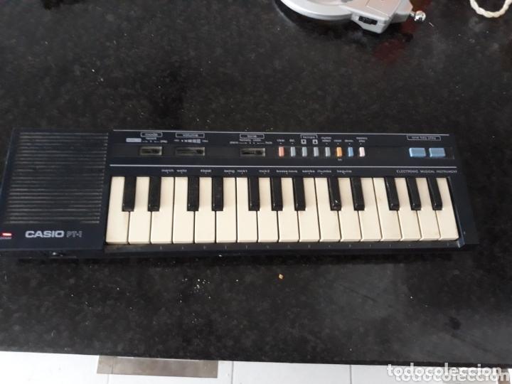 TECLADO CASIO PT-1 FUNCIONANDO (Música - Instrumentos Musicales - Teclados Eléctricos y Digitales)