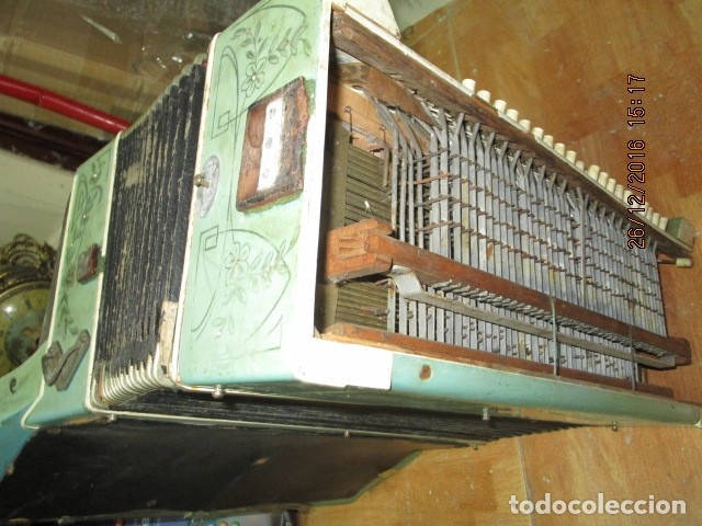 Instrumentos musicales: SELL FILARMONICA ACORDEON ANTIGUA PAOLO SOPRANI E FIGLI CASTELFIDARDO ITALIA CON PIEDRAS PEGADAS - Foto 31 - 191168920