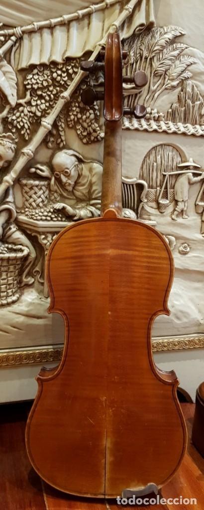 Instrumentos musicales: Violín fabricado en Alemania 1880-1900 - Foto 4 - 174141877