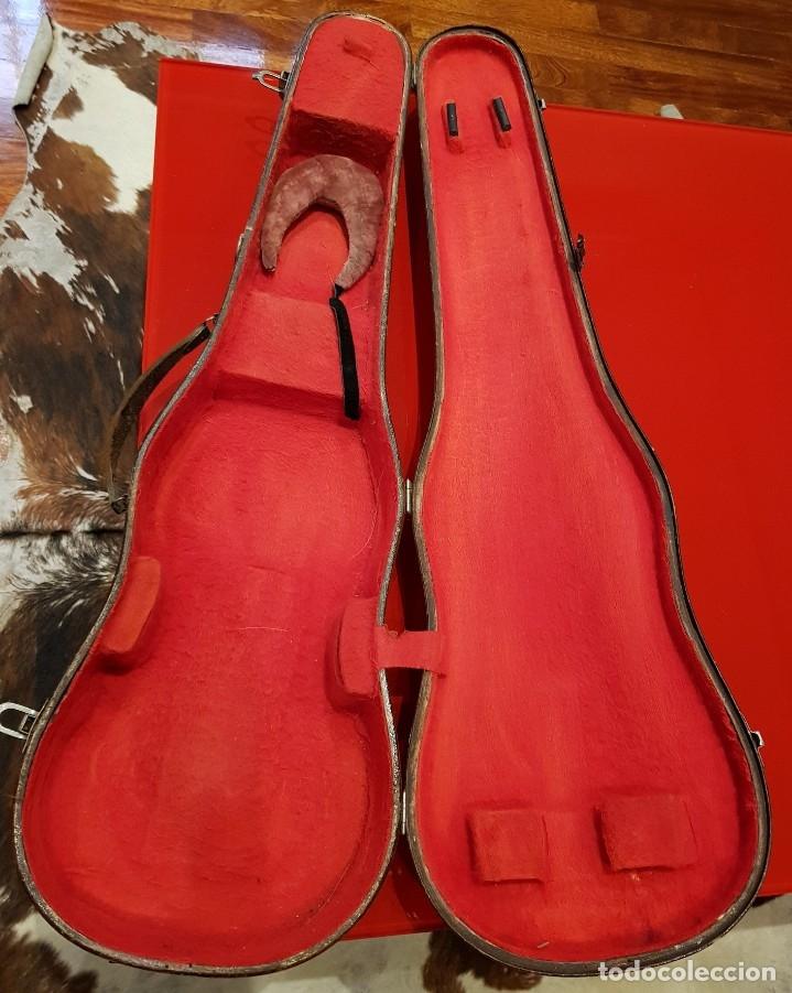 Instrumentos musicales: Violín fabricado en Alemania 1880-1900 - Foto 2 - 174141877