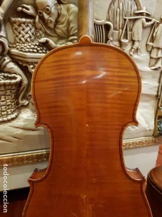 Instrumentos musicales: Violín fabricado en Alemania 1880-1900 - Foto 10 - 174141877