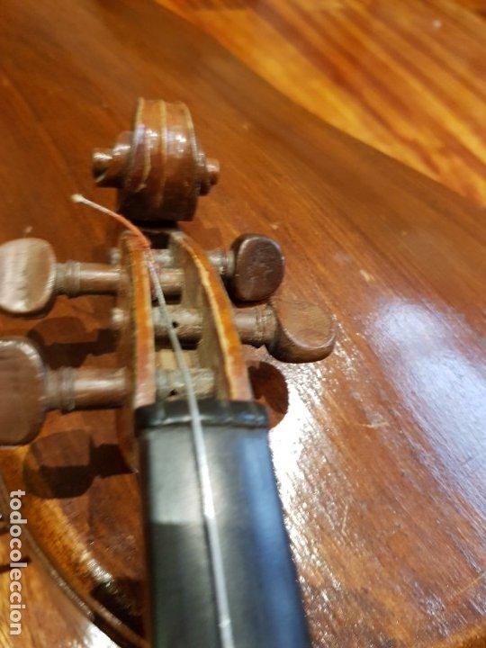 Instrumentos musicales: Violín fabricado en Alemania 1880-1900 - Foto 14 - 174141877