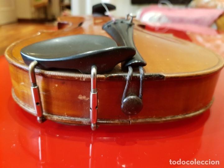 Instrumentos musicales: Violín fabricado en Alemania 1880-1900 - Foto 5 - 174141877