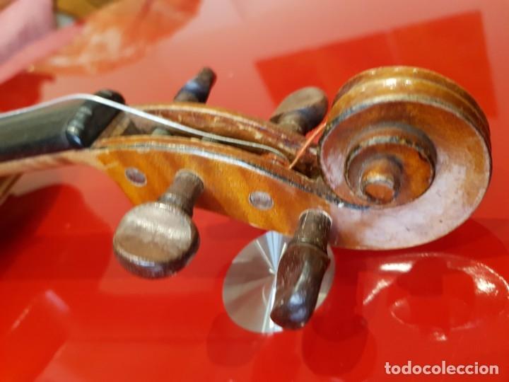 Instrumentos musicales: Violín fabricado en Alemania 1880-1900 - Foto 16 - 174141877