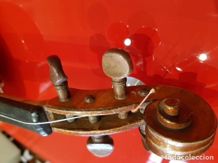Instrumentos musicales: Violín fabricado en Alemania 1880-1900 - Foto 17 - 174141877