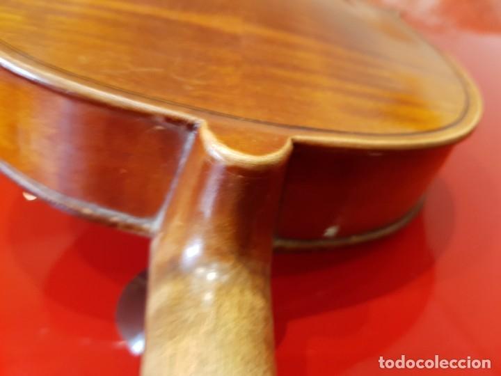 Instrumentos musicales: Violín fabricado en Alemania 1880-1900 - Foto 8 - 174141877