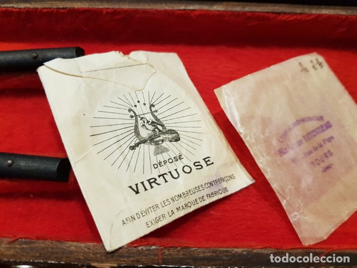 Instrumentos musicales: Violín fabricado en Alemania 1880-1900 - Foto 29 - 174141877