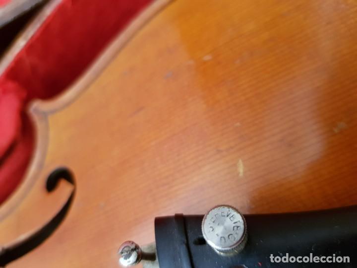 Instrumentos musicales: Violín fabricado en Alemania 1880-1900 - Foto 33 - 174141877