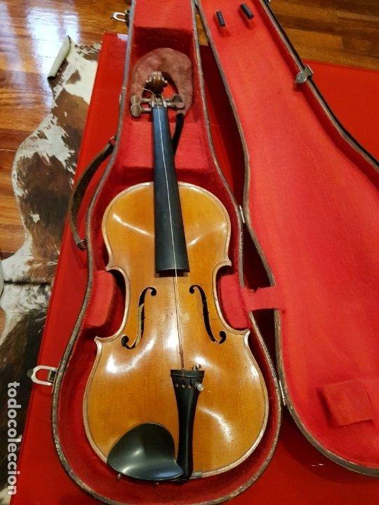 VIOLÍN FABRICADO EN ALEMANIA 1880-1900 (Música - Instrumentos Musicales - Cuerda Antiguos)