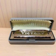 Instrumentos musicales: ARMONICA VICTORY EN SU ESTUCHE ORIGINAL.. Lote 174244467