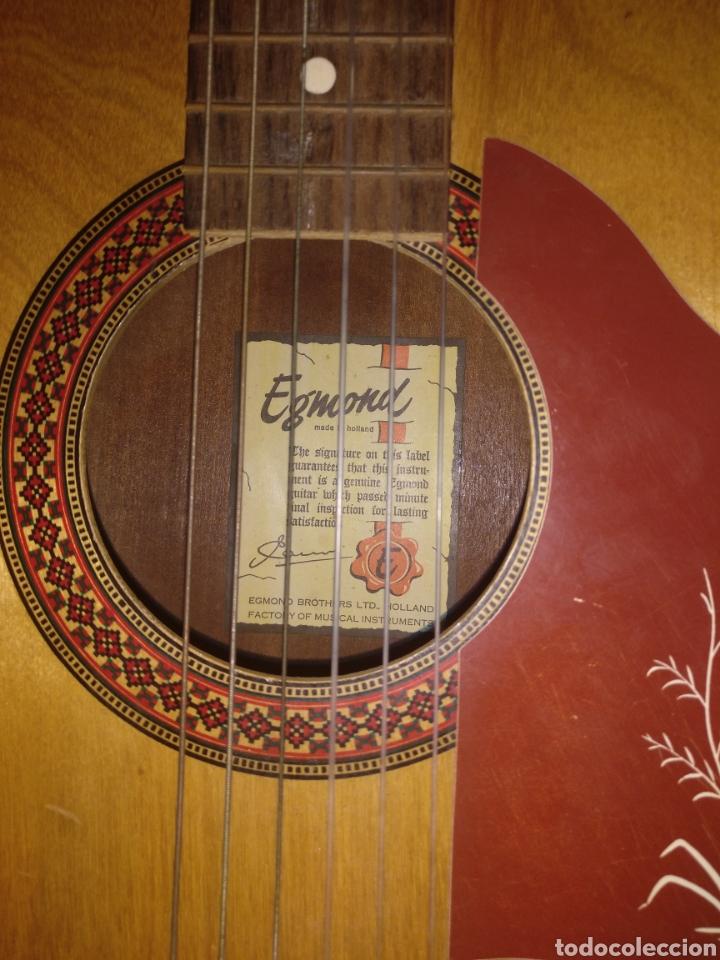 Instrumentos musicales: Guitarra Egmond - Foto 2 - 174529095