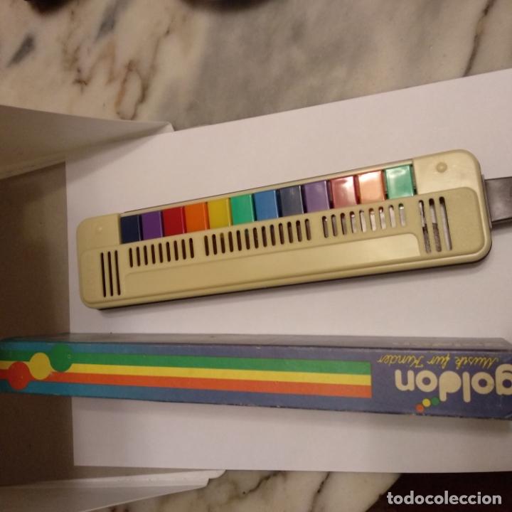 Instrumentos musicales: Bandy blasharmonika goldon 12 teclas nueva en caja a estrenar flauta piano armónica años 80 - Foto 3 - 175062939