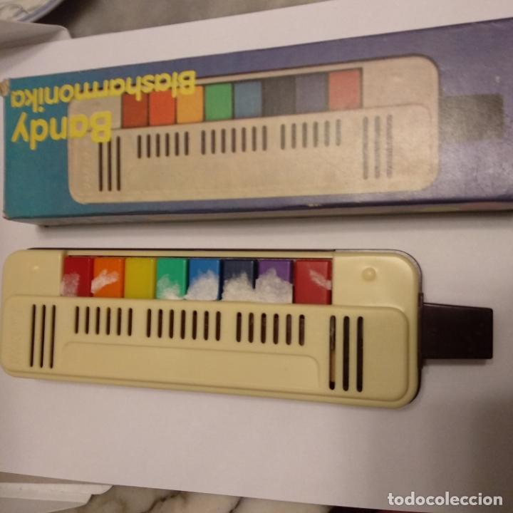 Instrumentos musicales: Bandy blasharmonika goldon 8 teclas nueva en caja a estrenar flauta piano armónica años 80 - Foto 2 - 175070397