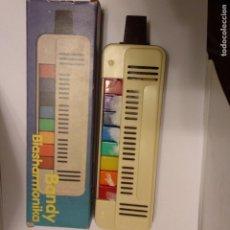 Instrumentos musicales: BANDY BLASHARMONIKA GOLDON 8 TECLAS NUEVA EN CAJA A ESTRENAR FLAUTA PIANO ARMÓNICA AÑOS 80. Lote 175070397